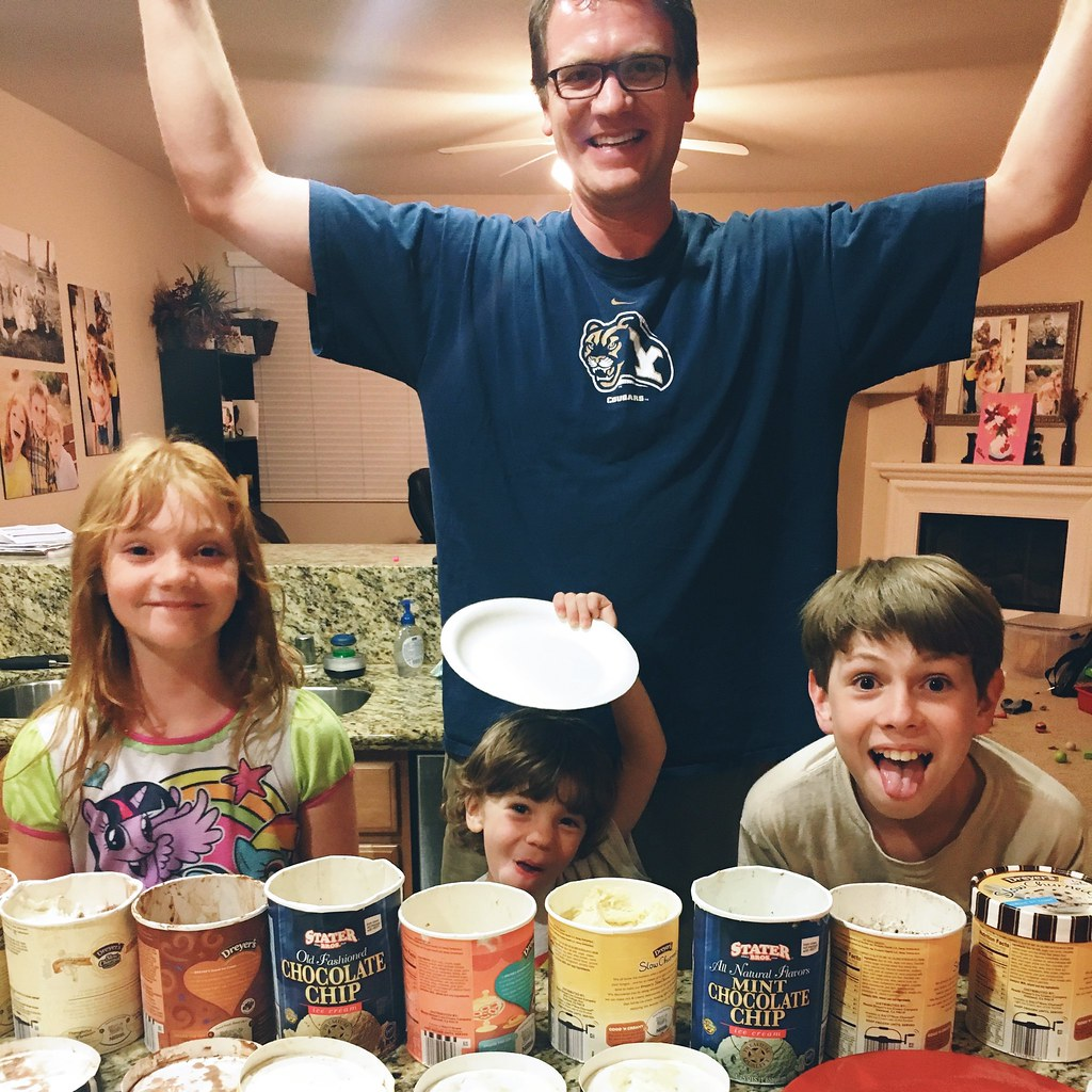 Ice cream for family night