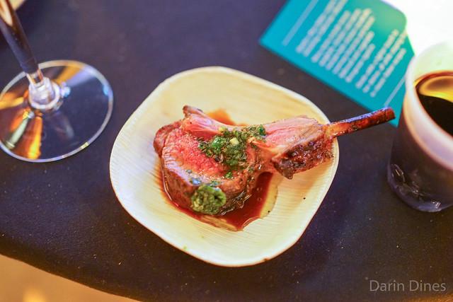 Mesa Grill lamb chops with chimichurri