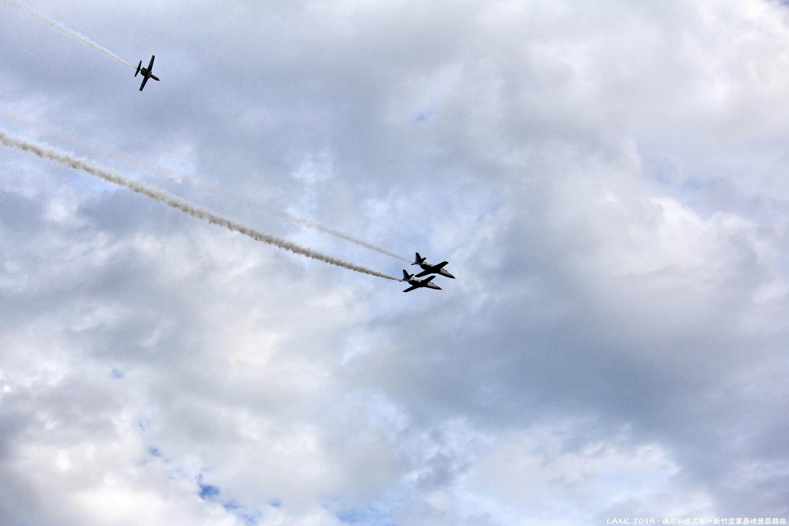 2015.11 國防知性之旅 - 新竹空軍基地營區開放