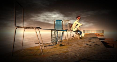 Where's Dim Sum? #352 - Otto: Man on chair