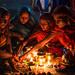 Kartik Purnima rituals - Sonepur, India by Maciej Dakowicz