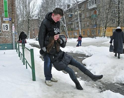 Зимові травми: забій, вивих, перелом...