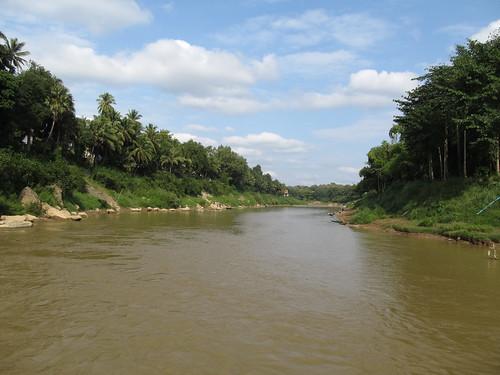Luang Prabang: la rivière Nam Khan