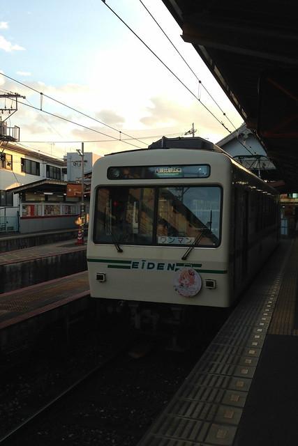 2016/01 叡山電車×ご注文はうさぎですか?? ヘッドマーク車両 #23