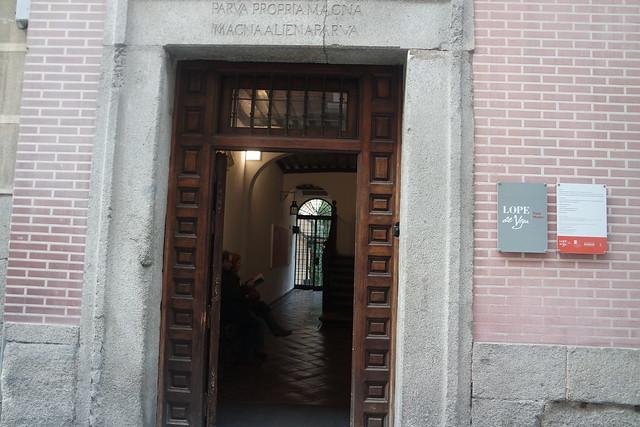 Entrada a la Casa - Museo de Lope de Vega
