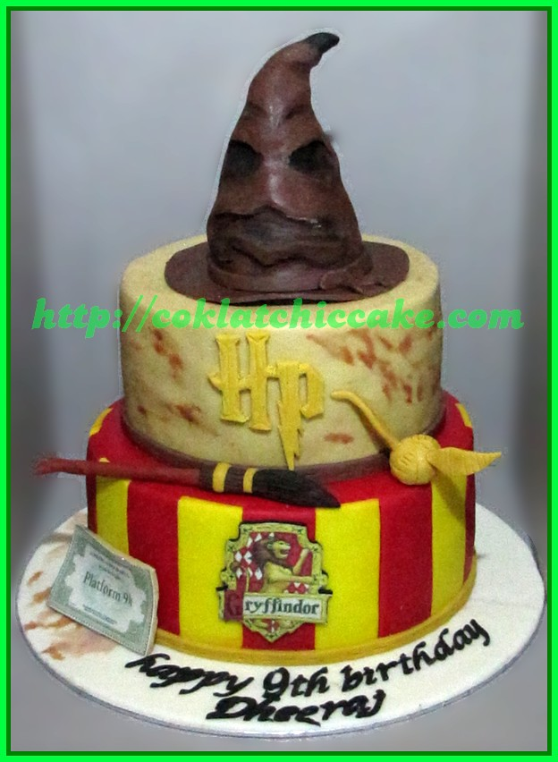 Cake Harry Potter