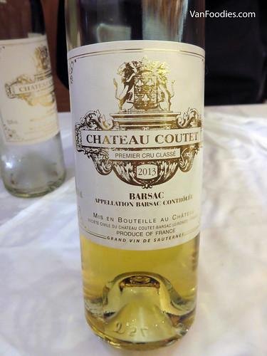 Chateau Coutet Blanc 2013