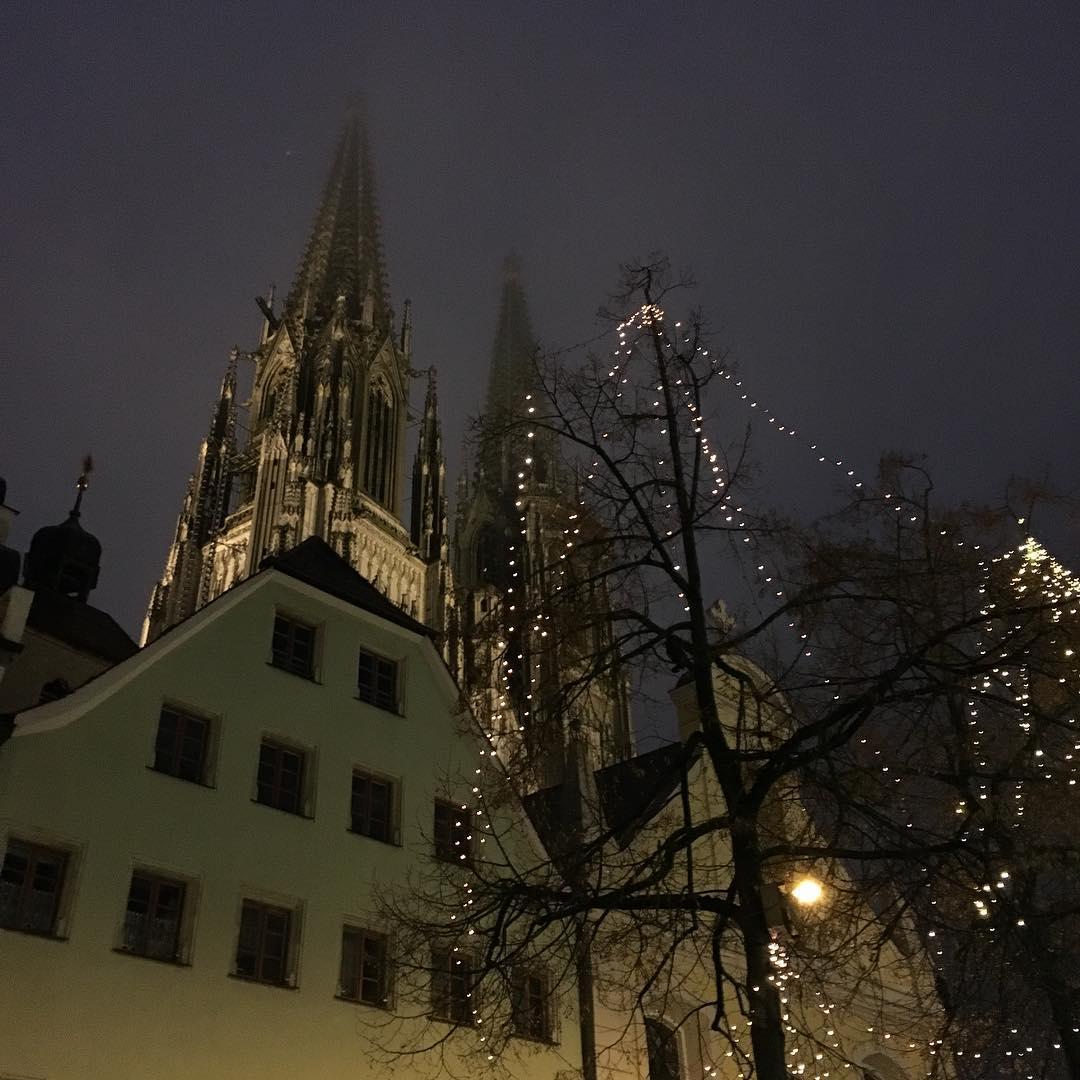 Готически-готичный Регенсбург