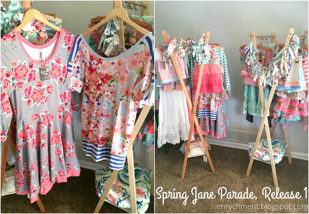 Matilda Jane Spring Jane Parade Release 1