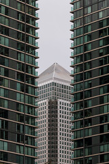 Canary Wharf abstract