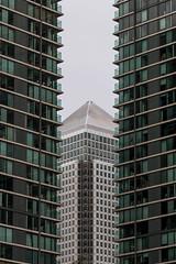 Canary Wharf abstract