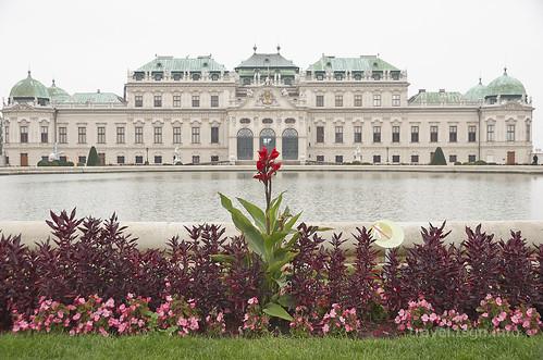 【写真】東欧周遊 : ヴェルベデーレ宮殿