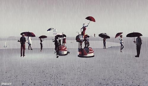 Rainy flashmob @ Furillen
