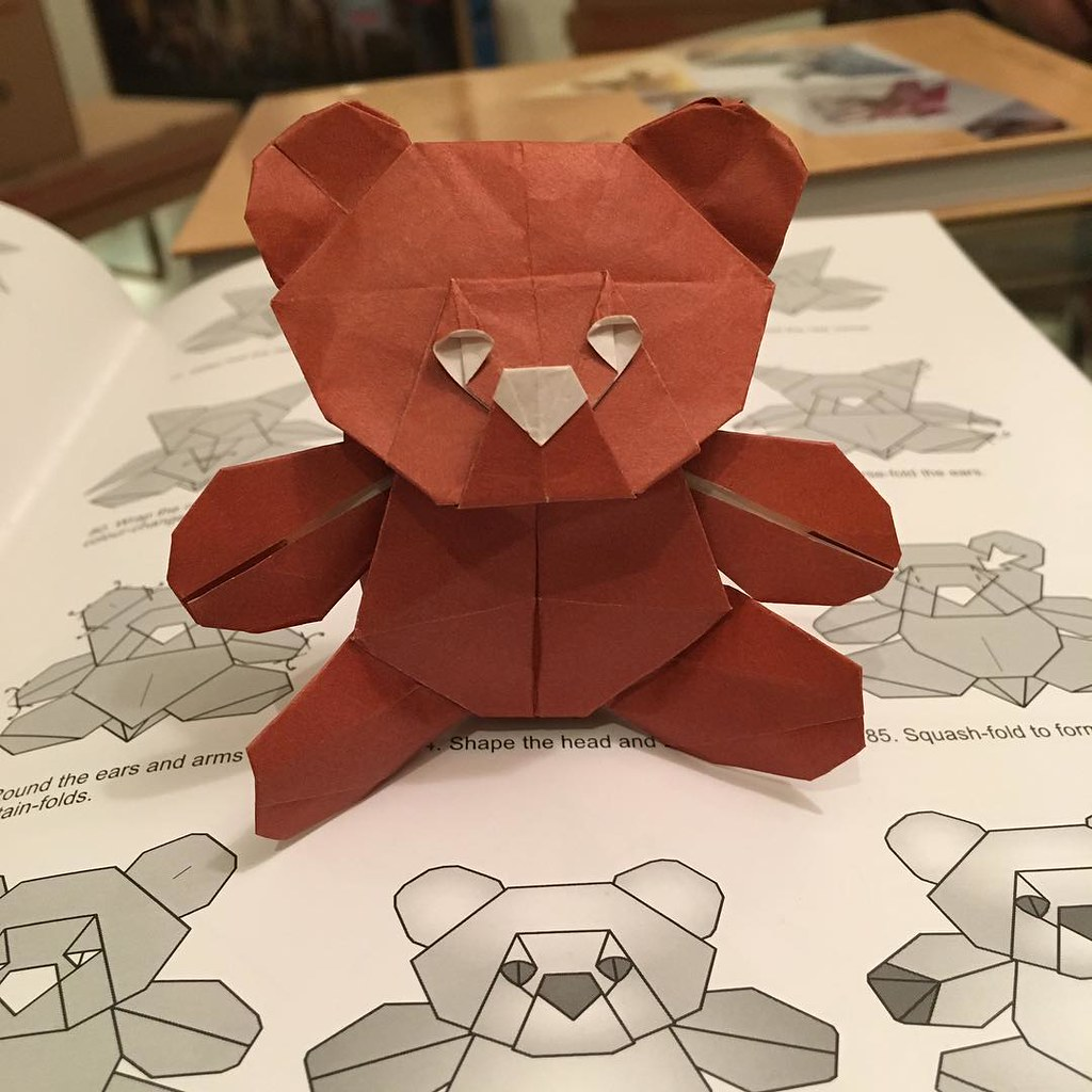 Elimon Elizabeth Montoya Rs Favorite Flickr Photos Picssr Origami Bear Diagram Teddybear Designed By Quentin Trollip Folded Me Diagrams In