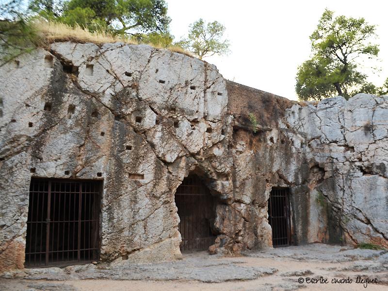 Prisión de Sócrates, en la que pasó sus últimas horas de vida
