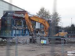 HS2 College site demolition preparation