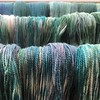 Prepping for Edinburgh Yarn Festival. New colour way drying @edinyarnfest