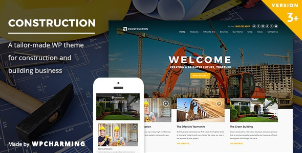Construction v3.1.4 – WP Construction, Building Business