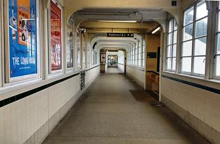Walkway corridor at Horsham Station