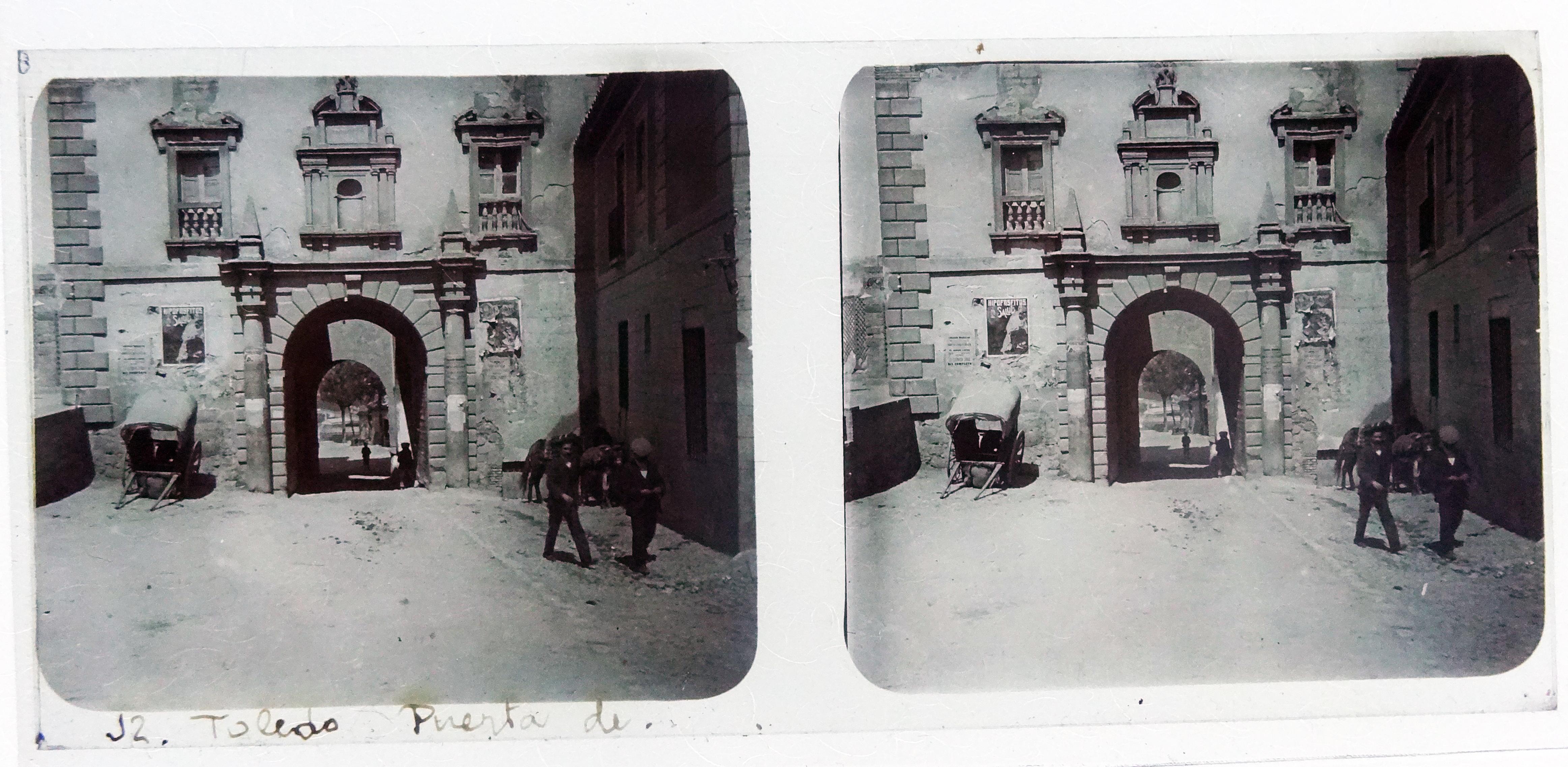 Puerta del Cambrón. Fotografía de Francisco Rodríguez Avial hacia 1910 © Herederos de Francisco Rodríguez Avial