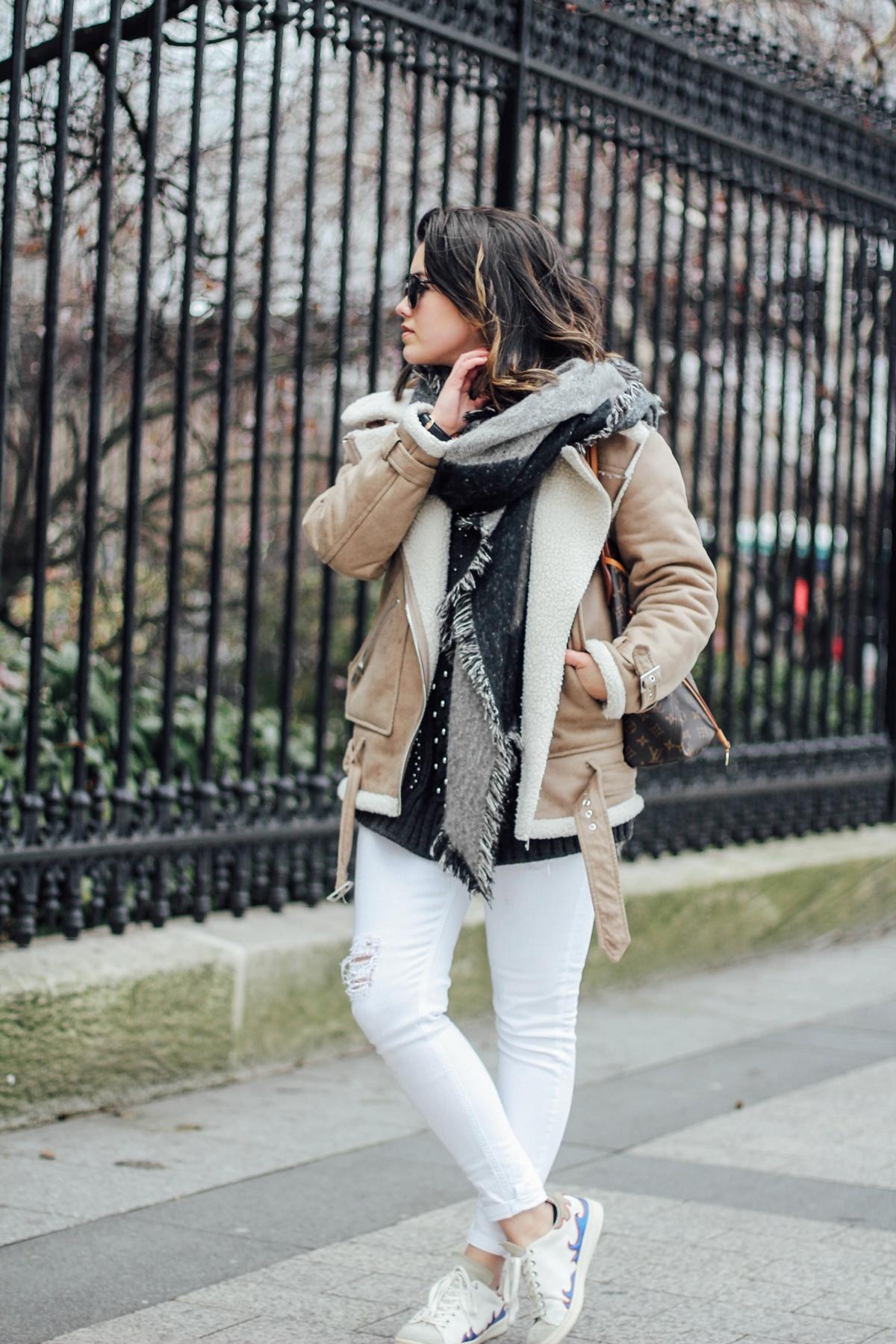 shearling-jacket-beige-isabel-marant-sneakers-streetstyle