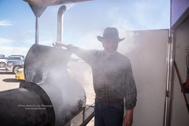 Brad Brown Smokes Meat, Pie Town, NM