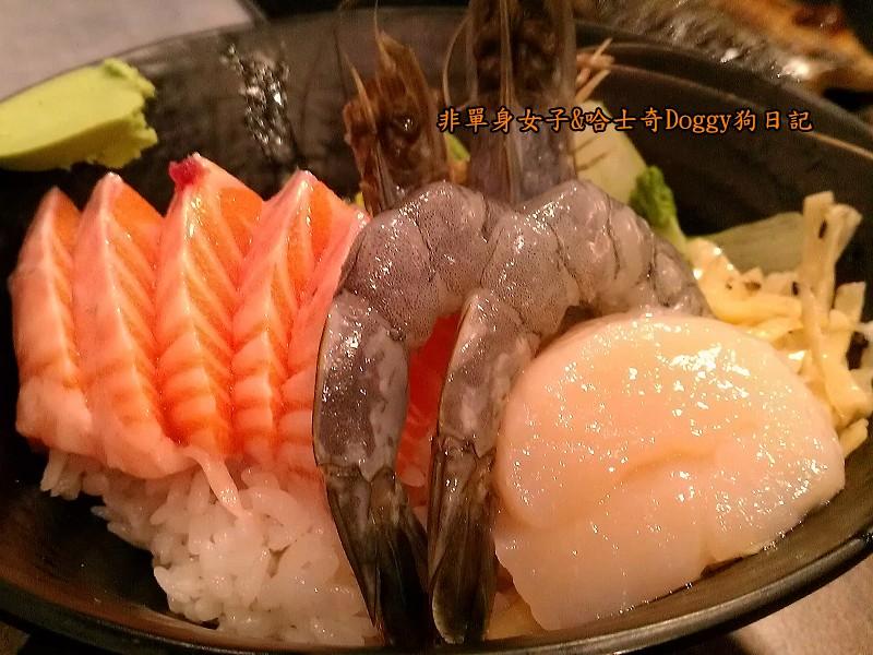 毅壽司平價日式料理築地生魚片蓋飯鮮魚金泰日本料理01