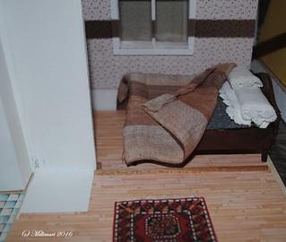 Makuusoppi olohuoneesta