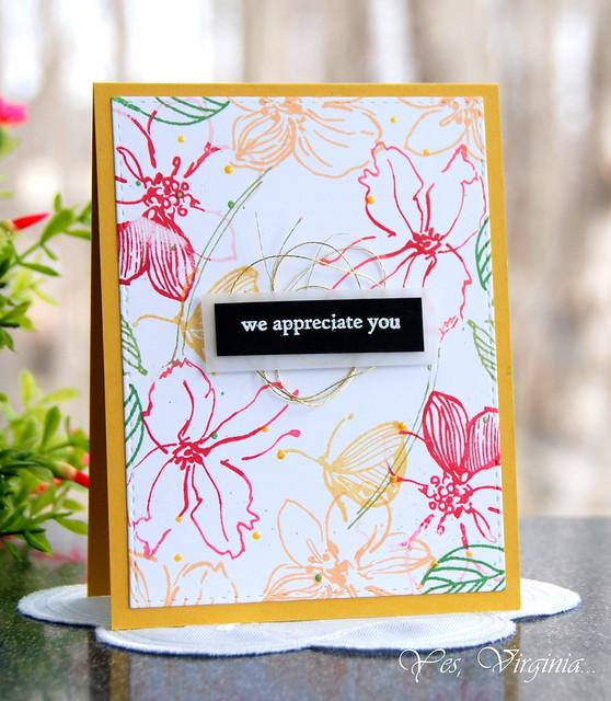 we appreciate you