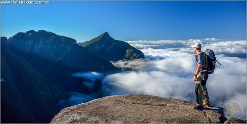 Travessia na Serra do Ibitiraquire PR - Clube Trekking Santa Maria RS_08