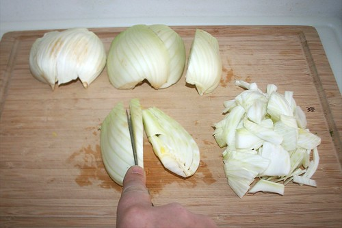 14 - Fenchel in Streifen schneiden / Cut fennel in slices