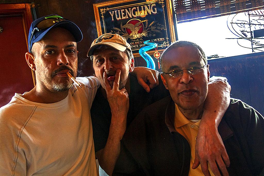 Vernon in Friendly Lounge on 3-16-16--Italian Market