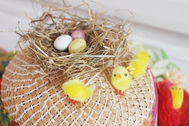 Easter hat by Isla