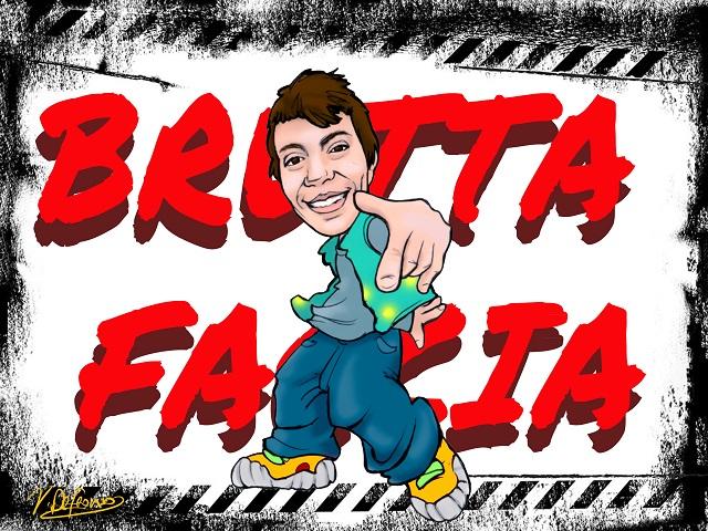Noicattaro. Vignetta rapper Nicola Dituri intero