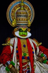 Kathikali actor portrait