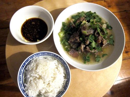 Hawaiian Oxtail Soup
