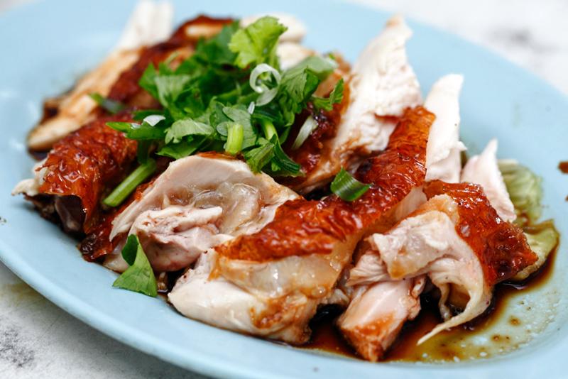 Hainanese Roast Chicken
