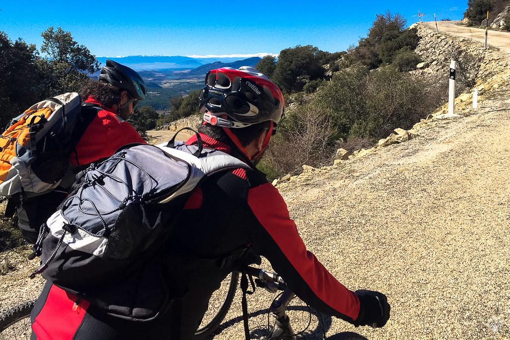 Nos esforzamos con buenas vistas de Sierra Nevada