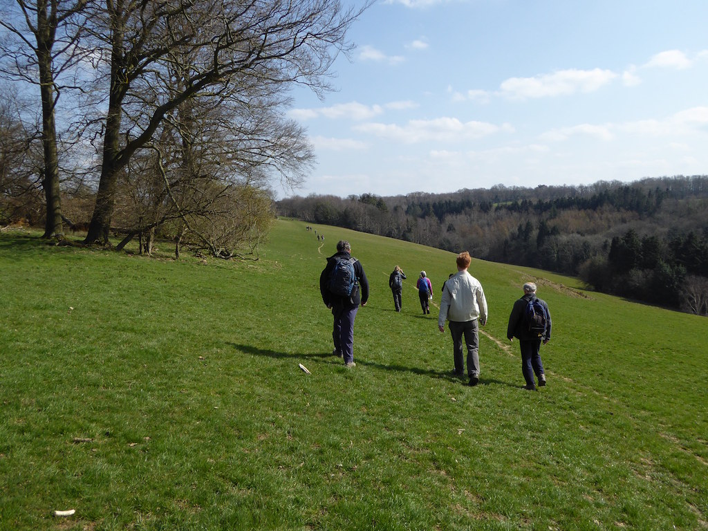 The new start Ashurst to Eridge walk