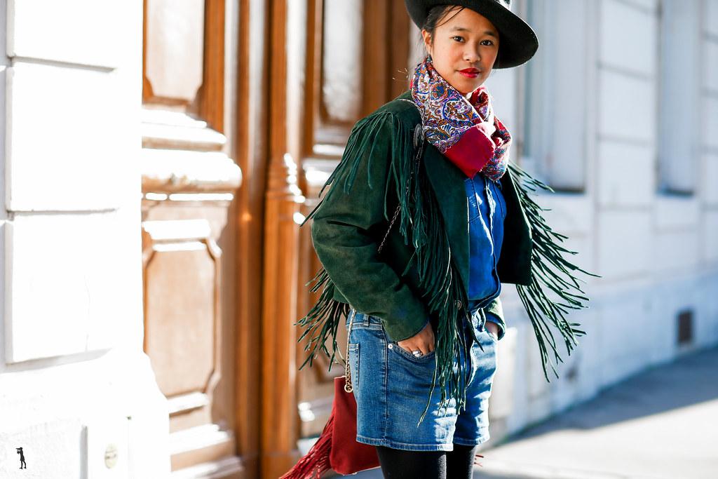 Albane de Marnhac at Paris Fashion Week Haute-Couture