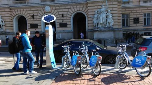 Львів запускає міський прокат велосипедів, як у Парижі та Відні