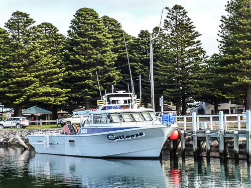 Port Fairy fishing boat