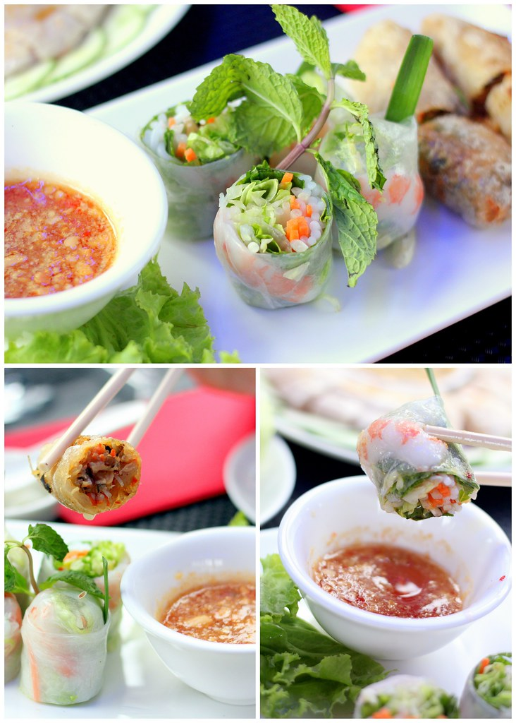 Singapore Gourmet Bus: Indochine Spring Rolls
