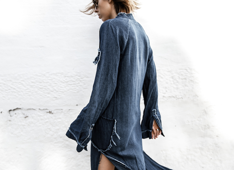 denim dress styling Rachel Comey fashion blogger modern legacy ootd (1 of 1)