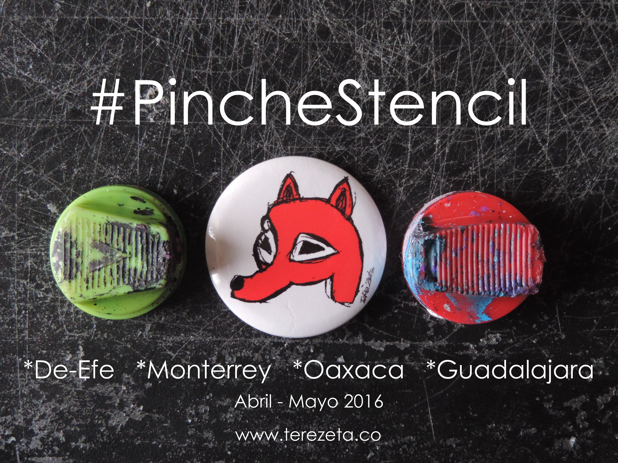 #PincheStencil