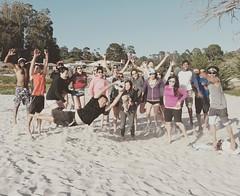 #Fun day at the beach 😎😎 #carmelbythesea #beachvolleyball #volleyball