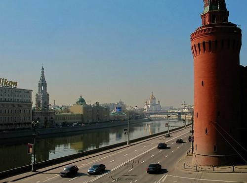 """Moscow dal libro """"Limonov (2011)"""" di Emmanuel Carrère"""