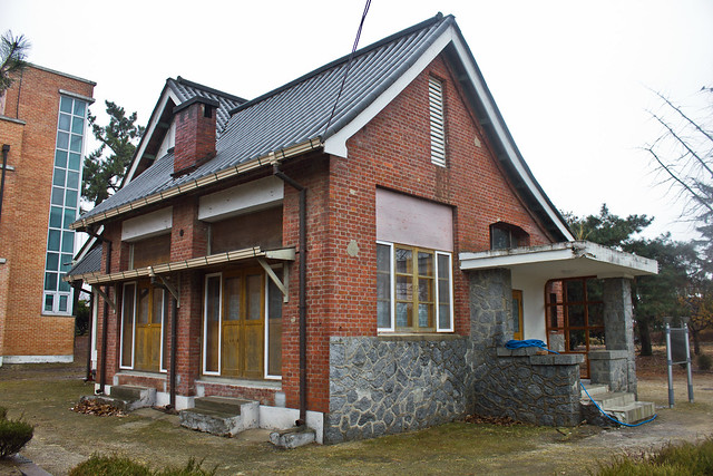 Colonial Schoolmaster's house, Ganggyeong-eup, South Korea
