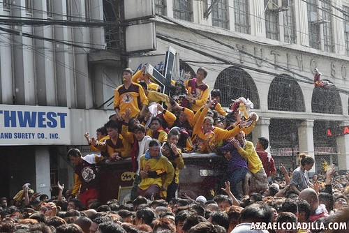 Feast of the Black Nazarene 2016 - coverage 4 by Azrael Coladilla