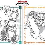 kung fu panda coloring page
